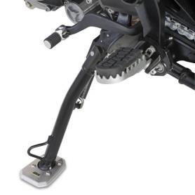 Ampliación de la base del caballete lateral para Kawasaki Versys 650 de Givi