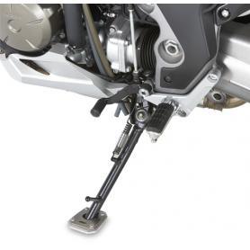Ampliación de caballete lateral en aluminio y acero inoxidable para Tiumph Tiger 800 (11-17) / 800XC (11-17) / 800XR (11-17) de GIVI
