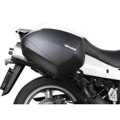Fijación lateral 3P-System para Suzuki VStrom 650 (04 -11) de SHAD