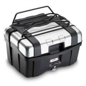 Portapaquetes metálico para las maletas Trekker en negro de Givi