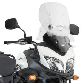 Cúpula específica transparente extensible Airflow para Suzuki DL 650 V-Strom L2-L3-L4-L5-L6 (11 - 16) de GIVI