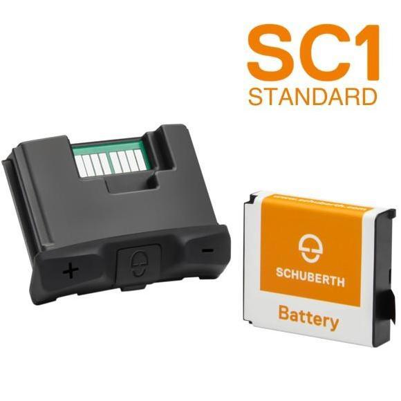 Intercomunicador Bluetooth® SC1 Estándar C4 / R2 / C4 PRO Schuberth-Sena