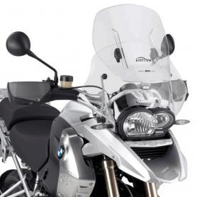 Cúpula específica transparente extensible Airflow (54 X 54cms) para BMW R 1200 GS (04 -12) de Givi