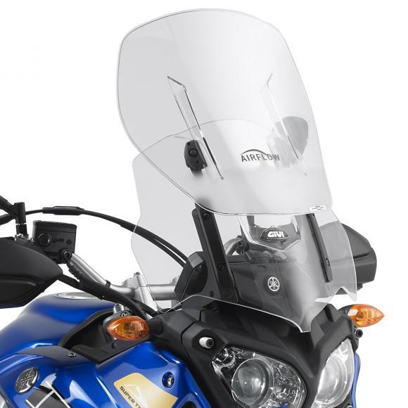 Cúpula específica transparente extensible Airflow (61 X 43cm) para Yamaha XT 1200Z Super Teneré (10 - 17) de GIVI