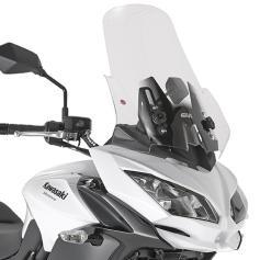 Cúpula específica transparente (53 x 44 cm) para Kawasaki Versys 650 (15-17) ** con spoiler** de GIVI