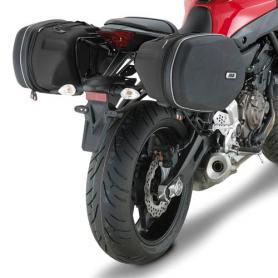 Soporte para alforjas EASYLOCK para Yamaha MT-07 (14-17) de GIVI