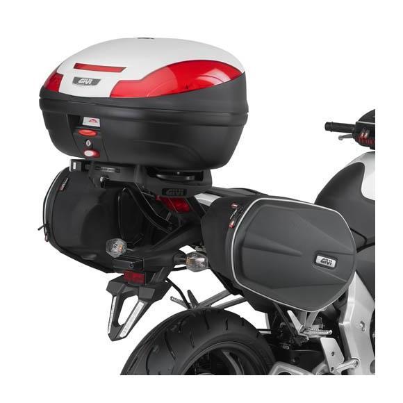 Soporte para alforjas EASYLOCK para Honda CB100R (08-17) de GIVI