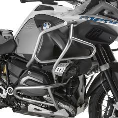 Barras de protección del motor en acero inoxidable para BMW R1200GS Adventure (14-17) de GIVI