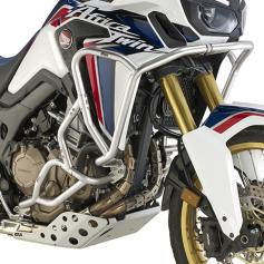 Defensas superiores en acero inoxidable para Honda CRF1000L Africa Twin (16-17) de GIVI