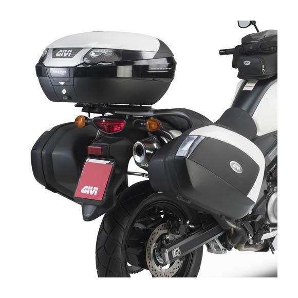 Portamaletas lateral para Suzuki DL650 V-Strom L2-L3-L4-L5-L6 (11-16) de GIVI