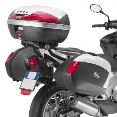 Portamaletas lateral para maletas MONOKEY® para Honda Integra 700 (12-13) de GIVI