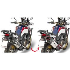 Portamaletas lateral de fijación rápida para maletas MONOKEY® para Honda CRF1000L Africa Twin (16-17) de GIVI