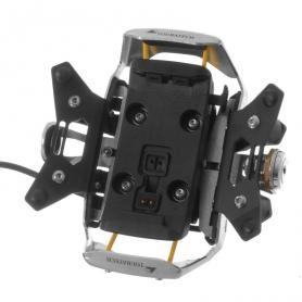 Soporte de manillar Zumo 340 / 345 / 350 / 390 / 395 V 3.0 *se puede cerrar con llave* en negro de Garmin
