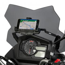 Barra soporte smarthphone/GPS para Suzuki VSTROM 650 17- de GIVI