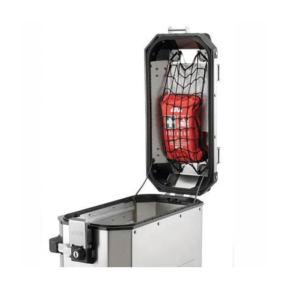 Red elastica portaobjectos, adaptable a las subtapas de las maletas Trekker Outback y Trekker Dolomiti de Givi