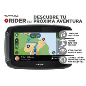 Navegador TomTom Rider 550 World Premium Pack