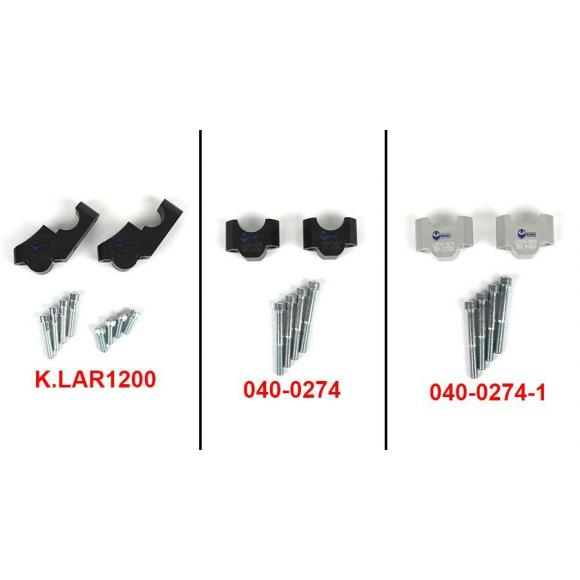 Elevadores para manillar para BMW R1200GS & R1200GS Adventure 2004-2007