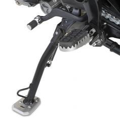 Ampliación de la base del caballete lateral para Yamaha MT-07 Tracer de Givi