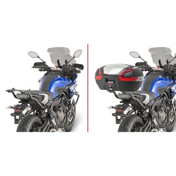 Adaptador posterior específico para maleta MONOKEY® o MONOLOCK® para Yamaha MT-07 Tracer (16-17) de Givi