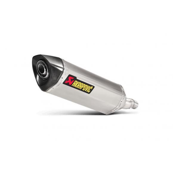 Sistema de escape Akrapovič Slip-On Line (Titanium) para Honda NC 700/750X 2012
