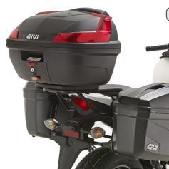 Adaptador posterior específico para maleta MONOLOCK® para Honda CB 500 F 2014 de Givi