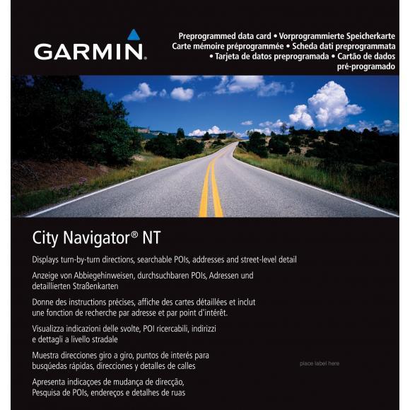 City Navigator® Sudamérica NT de Garmin