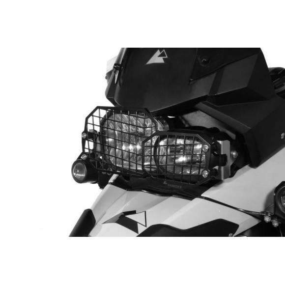 Protección de acero inoxidable para los faros con cierre rápido, para BMW