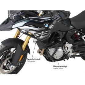 Protector del motor negro para BMW F 850 GS (2018)