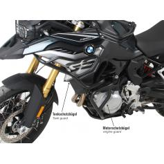 Defensas de motor negro para BMW F 850 GS (2018-)
