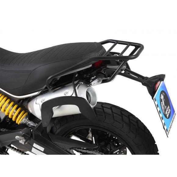 Soprte trasero de tubos-negro para Ducati Scrambler 1100 de 2018