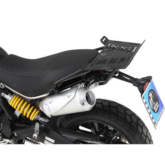 Ampliación trasera - negro para Ducati Scrambler 1100 de 2018