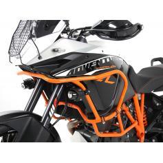 Barras de protección superior en naranja para KTM 1090 Adventure R desde 2017