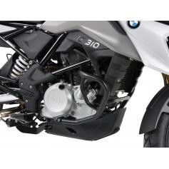 Defensas de motor en negro para BMW G 310GS desde 2017 de Hepco&Becker.