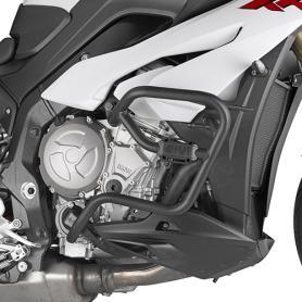 Defensas de motor tubular, negro, para BMW S1000XR de (15-18)