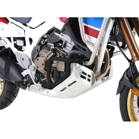 Barras de protección para el motor en NEGRO para Honda África Twin Adventure Sports CRF1000L