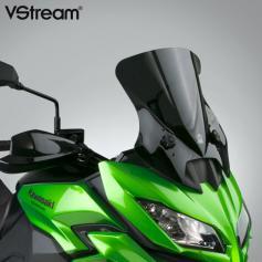 Pantalla VStream® gris oscuro (95%) con revestimiento FMR Kawasaki® KLE650/1000 Versys