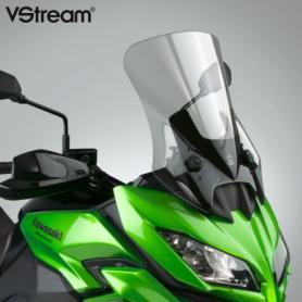 Pantalla VStream® gris claro (26%) con revestimiento FMR para Kawasaki® KLE650/1000 Versys
