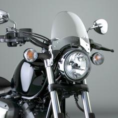 Cúpula Flyscreen para Honda, BMW y Harley-Davidson