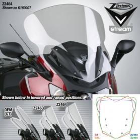 Pantalla Touring alta VStream® Transparente con Revestimiento de FMR para K1600GT/GTL