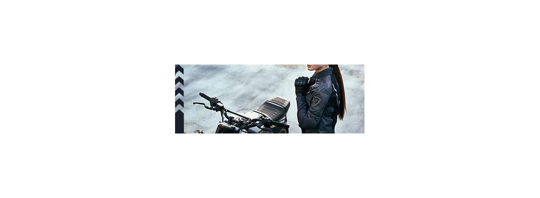 Chaquetas de moto de mujer