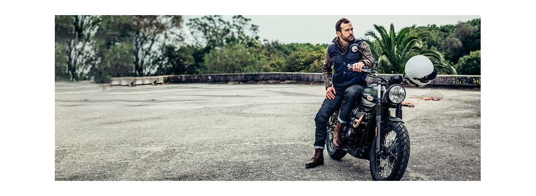 Pantalón vaquero de moto