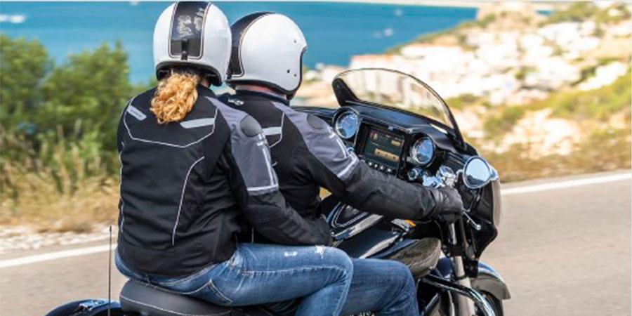 Chaqueta airbag moto Vented