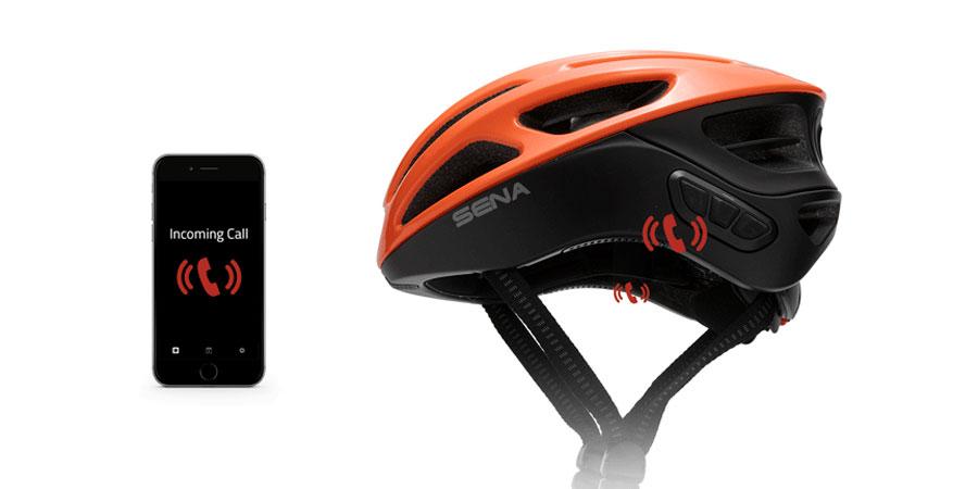 Casco Ciclismo Sena R1 bluetoothintercom