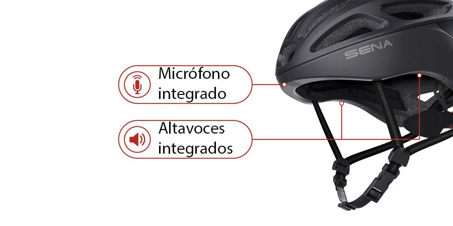 Casco Ciclismo Sena R1