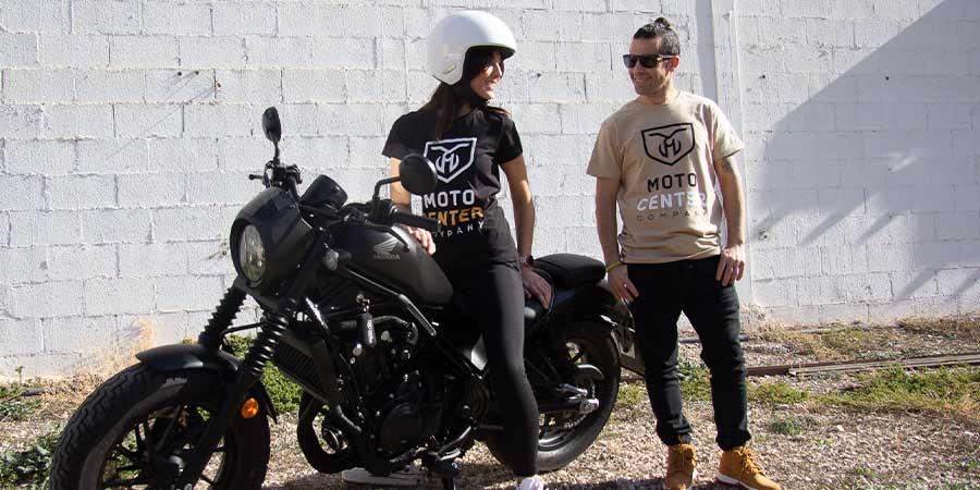 Camiseta Mujer MotoCenter Company 2
