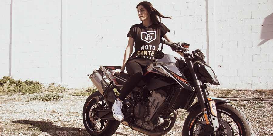 Camiseta Mujer MotoCenter Company 3
