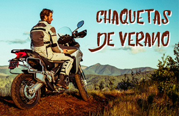 Chaquetas moto verano
