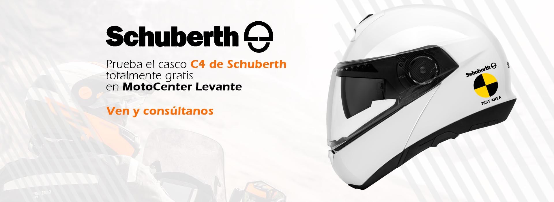 prueba gratis el casco schuberth c4 en motocenter levante. Black Bedroom Furniture Sets. Home Design Ideas